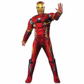 Asstd National Brand Marvels Captain America Civil War Iron Man Marvel 3-pc. Dress Up Costume