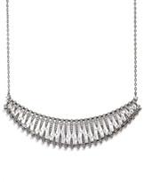 Nadri &Liliana& Cubic Zirconia Frontal Necklace
