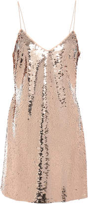 Sachin + Babi Sequined Tulle Mini Dress