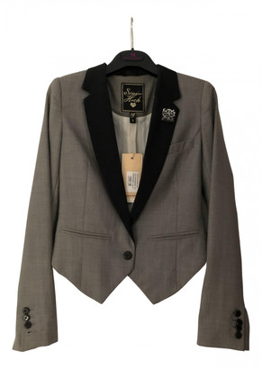 Silvian Heach Grey Polyester Jackets