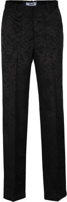 MSGM Jacquard Tuxedo Trousers