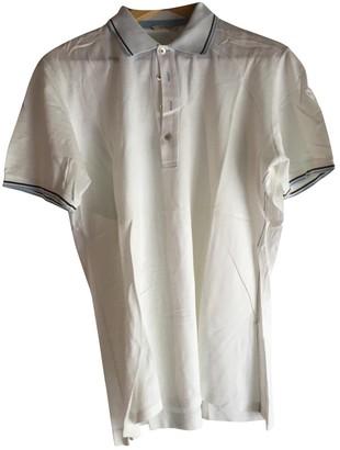 Non Signã© / Unsigned White Cotton Polo shirts