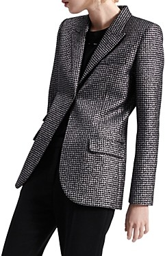 Barbara Bui Tailored Houndstooth Blazer