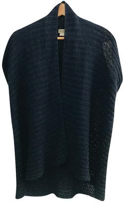 Non Signã© / Unsigned Kimono Blue Cotton Knitwear