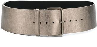 Ann Demeulemeester Textured Belt