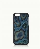 GiGi New York iPhone 6/6s Hard-Shell Case Embossed Python Leather