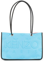 Kenzo embossed boxy tote