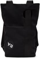 Y-3 Black Logo Backpack