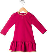 Little Marc Jacobs Girls' Long Sleeve Pleated Dress