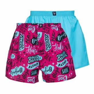 Bruno Banani Men's Boxershort 2er Pack Plucky Art Boxer Shorts
