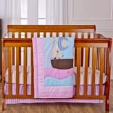 Dream On Me Sea Friends 3Pc Reversible Full Size Crib Bedding Set