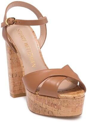 Stuart Weitzman Soliesse Platform Heeled Sandal