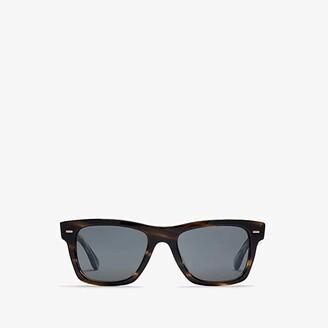 Oliver Peoples Oliver Sun (Cinder Cocobolo/Carbon Grey Lens) Fashion Sunglasses