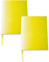Christian Lacroix A5 Neon Yellow Paseo Notebooks, Set of 2