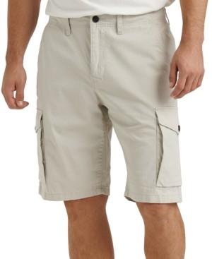 Lucky Brand Men's Stretch Twill Cargo Shorts