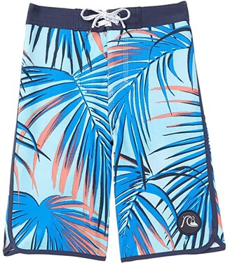 Quiksilver Highline Sub Tropic 14 Boardshorts (Toddler/Little Kids) (Pacific Blue) Boy's Swimwear
