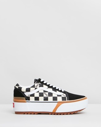 Vans Old Skool Stacked Checker - Women's