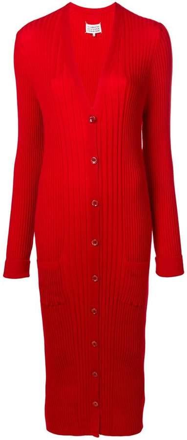 Maison Margiela long fitted cardigan