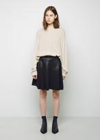 3.1 Phillip Lim Coated Wool Skirt