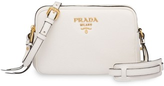 Prada Double-Zip Shoulder Bag