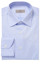 Canali Cotton Solid Dress Shirt