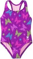 TYR Girls' Flutter Maxfit One Piece Swimsuit (2T12yrs) - 8136982