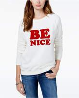 ban. do Be Nice Crew-Neck Sweater