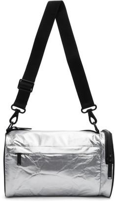 Y-3 Y 3 Silver Mini Gym Bag