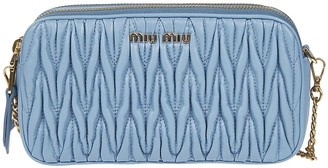 Miu Miu Zip-around Chain Shoulder Bag