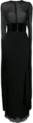 Tom Ford Draped Evening Dress