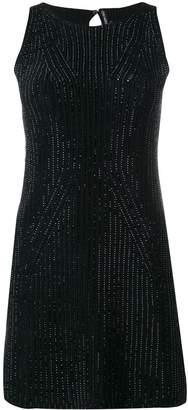 Ermanno Scervino rhinestone-embellished mini dress