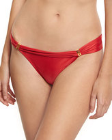 Vix Bia Solid Swim Bottom, Red