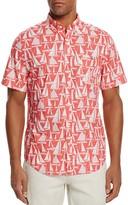 Vineyard Vines Boat Print Tucker Slim Fit Button-Down Shirt