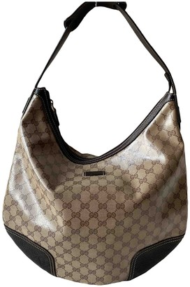 Gucci Hobo Beige Cloth Handbags
