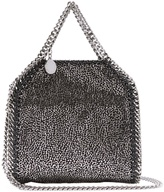 Stella McCartney Tiny Falabella faux-suede cross-body bag