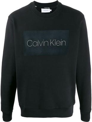 Calvin Klein logo printed jumper