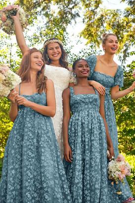 BHLDN Beatrice Organza Maxi Dress