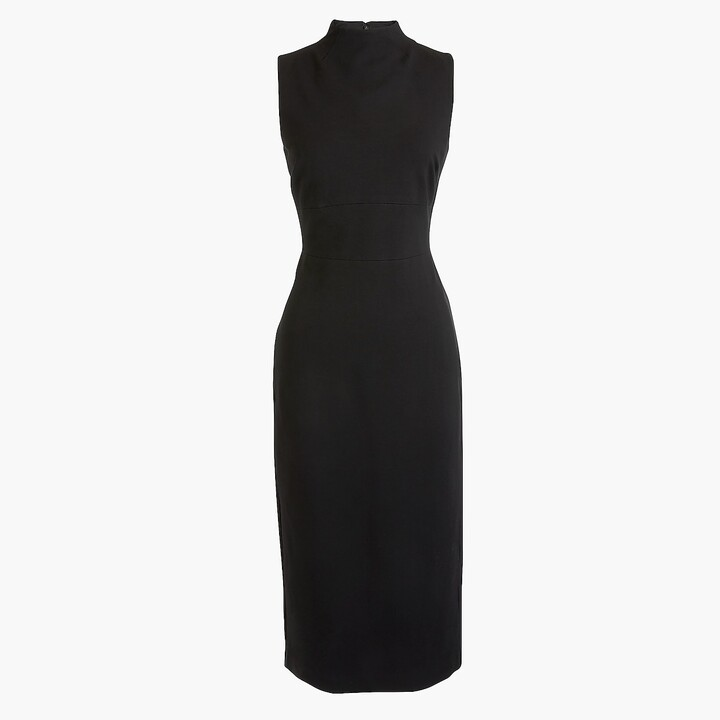 Thumbnail for your product : J.Crew Mockneck sheath dress in stretch ponte