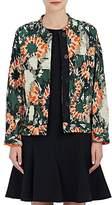 Raquel Allegra Women's Camouflage Silk Jacquard Jacket