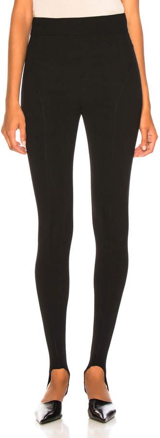 464dfd37d3e07 Black Wool Stirrup Pants - ShopStyle