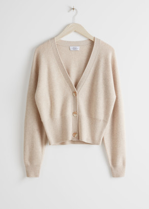 And other stories Cropped Cardigan