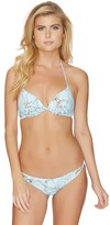 Reef Turquoise Stone Underwire Bikini Top