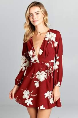 Racine Floral Mini Dress