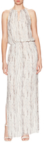 Ramy Brook Elaine Silk Print Maxi Dress