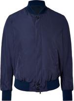 Neil Barrett Persian Blue Nylon Bomber Jacket
