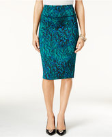 Thalia Sodi Animal-Print Pencil Skirt, Only at Macy's