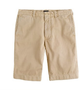 "J.Crew 10.5"" Stanton short in garment-dyed cotton"