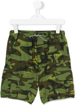 Diesel camouflage shorts - kids - Cotton - 7 yrs