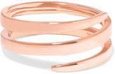 Anita Ko Coil 18-karat Rose Gold Pinky Ring - 4