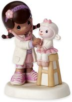 Precious Moments Disney® Friends Listen to Your Heart Girl as Doc McStuffins Figurine
